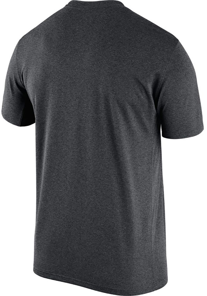 Nike Chicago Bears Charcoal Logo Essential 3 Short Sleeve T Shirt - Image 2