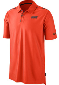 Cleveland Browns Nike Team Issue UV Polo Shirt - Orange