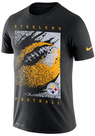low priced cd3c1 04248 Nike Pittsburgh Steelers Black Mezzo Icon Tee