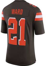 Denzel Ward Cleveland Browns Nike Home Limited Football Jersey - Brown