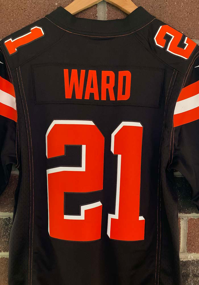 Denzel Ward Nike Cleveland Browns Mens Brown Home Limited Football Jersey - 12553423