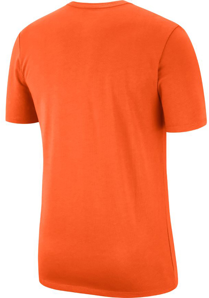 Nike Cleveland Browns Orange Heavyweight Arch Short Sleeve T Shirt - Image 2