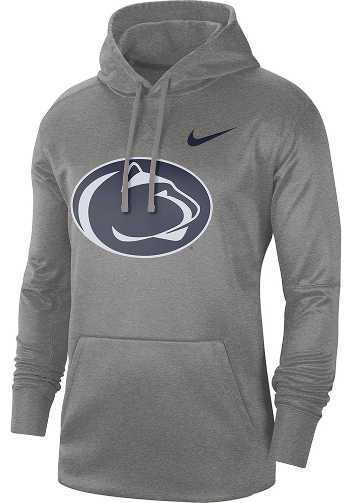 Nike Penn State Nittany Lions Mens Grey Essential Hood - Image 1