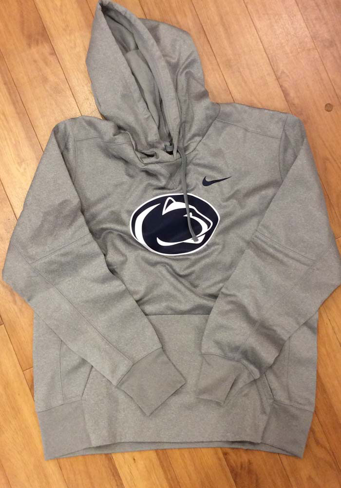 Nike Penn State Nittany Lions Mens Grey Essential Hood - Image 3