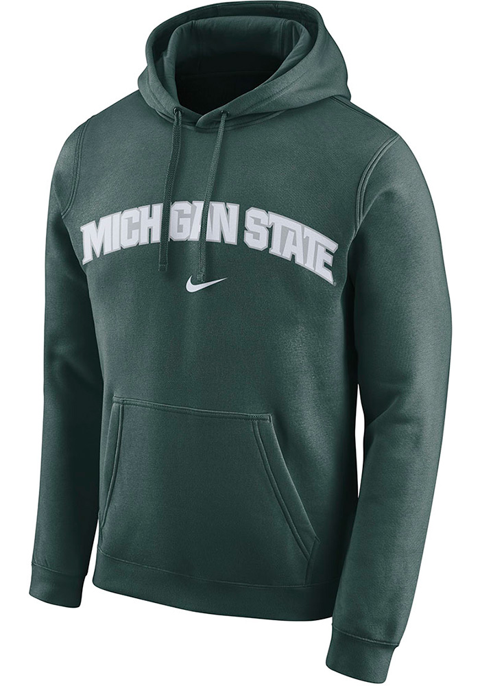 Michigan State Spartans Nike Arch Hooded Sweatshirt - Green
