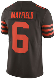 Baker Mayfield Cleveland Browns Nike Color Rush Limited Football Jersey - Brown