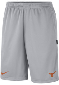 Texas Longhorns Nike Coach Dry Shorts - Grey