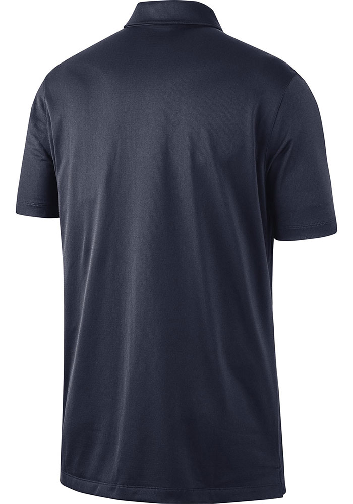 Nike Penn State Nittany Lions Mens Navy Blue Franchise Dry Short Sleeve Polo - Image 2