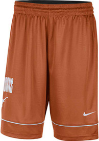 Texas Longhorns Nike Fast Break Shorts - Burnt Orange