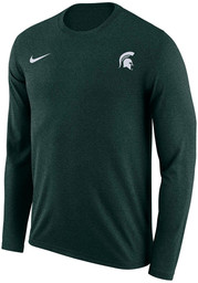 Nike Michigan State Spartans Green Velocity Legend Long Sleeve T-Shirt