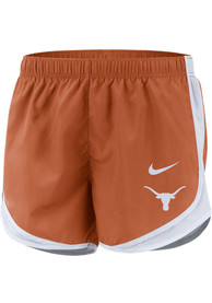 Texas Longhorns Womens Nike Tempo Shorts - Burnt Orange