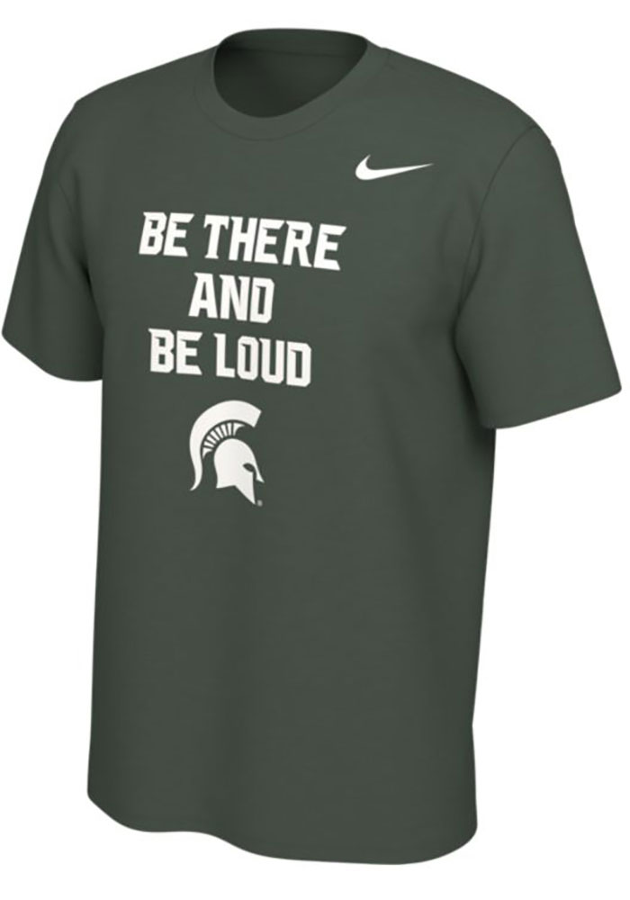 Michigan State Spartans Nike Mantra T Shirt - Green