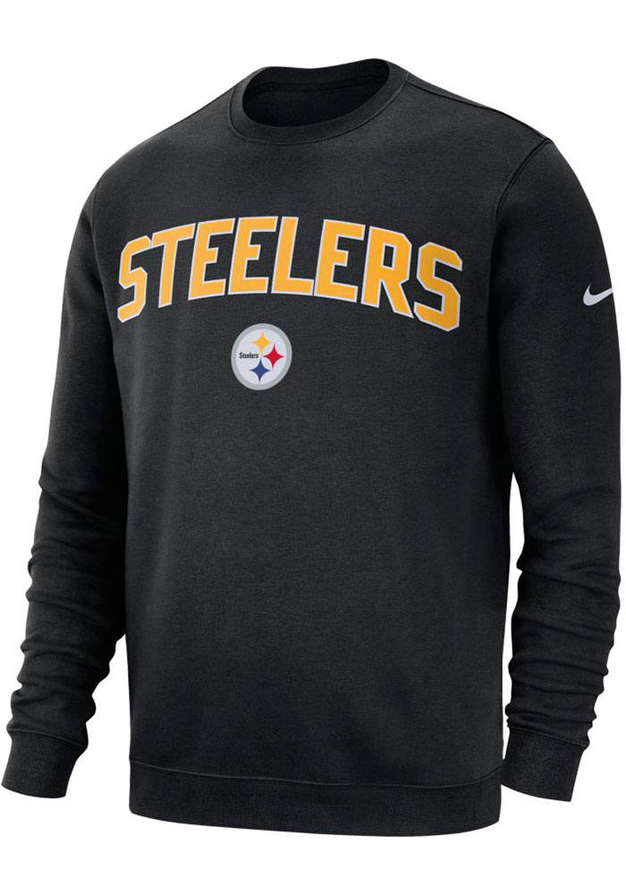 Nike Pittsburgh Steelers Black Fleece Club Sweatshirt