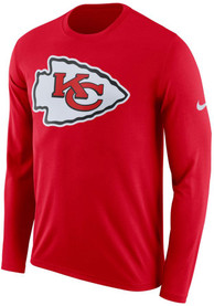 Kansas City Chiefs Nike Primary Logo T Shirt - Red