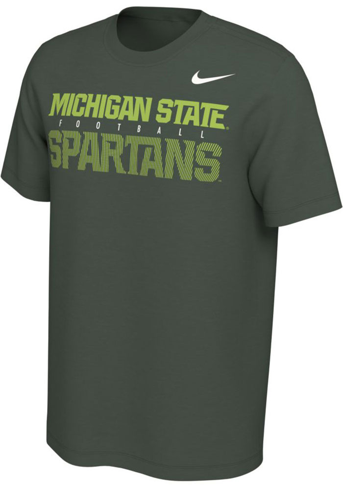 Michigan State Spartans Nike Student Body T Shirt -