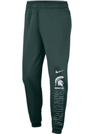 Michigan State Spartans Nike Therma Pants - Green