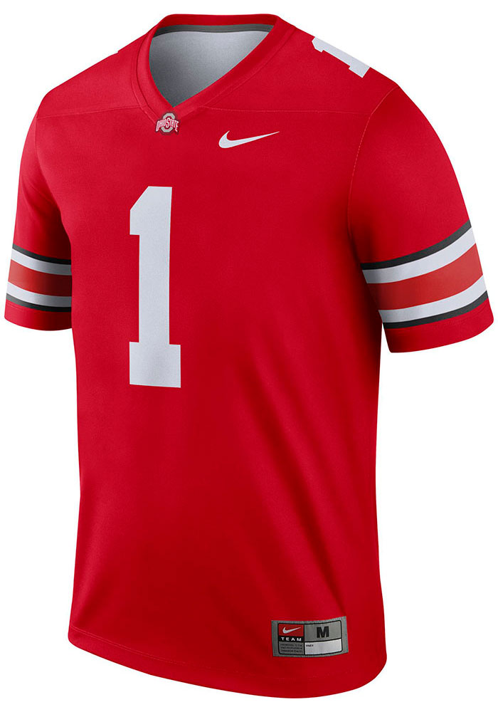 Nike Ohio State Buckeyes Mens Red Limited Football Jersey - 12555078