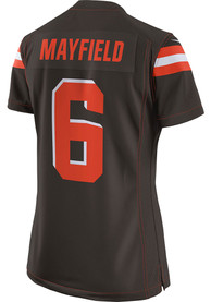Baker Mayfield Cleveland Browns Womens Nike Home Game Football Jersey - Brown