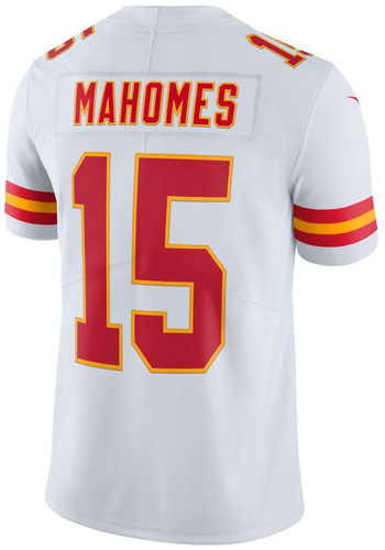 official photos 86e47 888ac Patrick Mahomes Outer Stuff Kansas City Chiefs Youth White Game White  Jersey Jersey