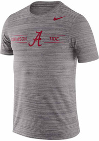 Alabama Crimson Tide Nike Velocity GFX Legend T Shirt - Grey