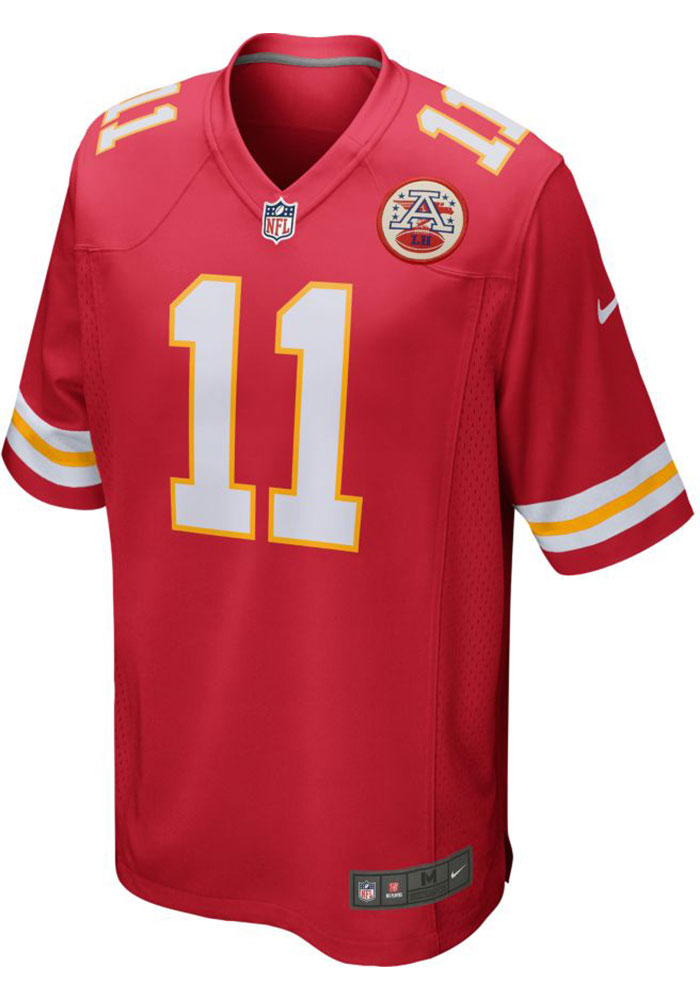 Demarcus Robinson Nike Kansas City Chiefs Red Home Game Football Jersey - Image 2