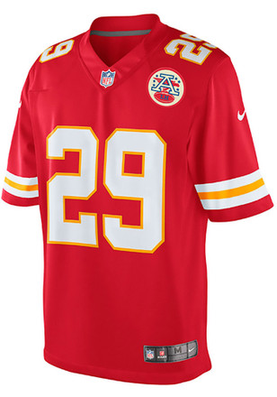 Eric Berry Nike KC Chiefs Mens Red Limited Jersey