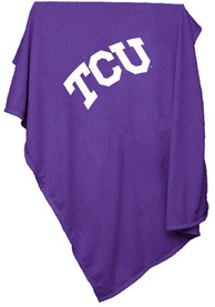 TCU Horned Frogs Team Logo Sweatshirt Blanket