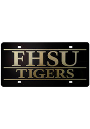 Fort Hays State Team Logo Silver License Plate
