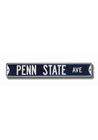Penn State Nittany Lions Navy Street Sign