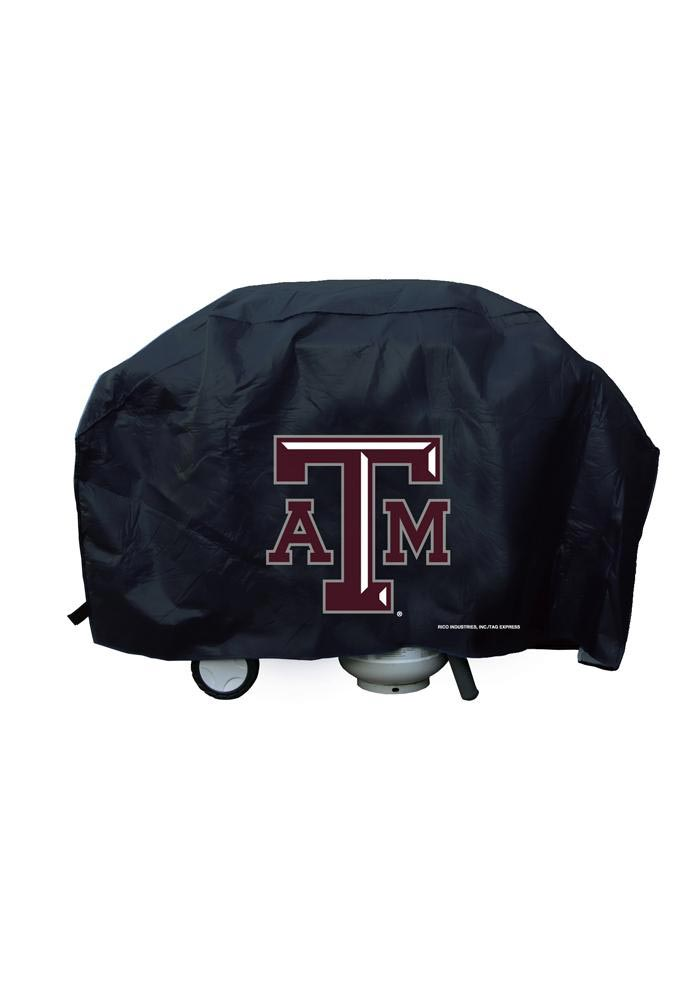 Texas A&M Aggies 59in Black BBQ Grill Cover - Image 1