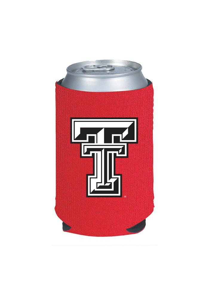 Texas Tech Red Raiders Red Neoprene Koozie - Image 2