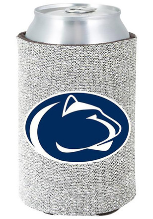 Penn State Nittany Lions Silver Glitter Can Koozie