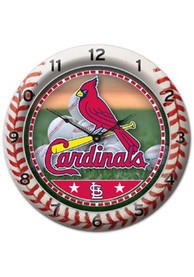St Louis Cardinals 10.75in Gametime Wall Clock