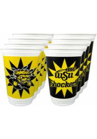 Wichita State Shockers 8pk 16oz Disposable Cups