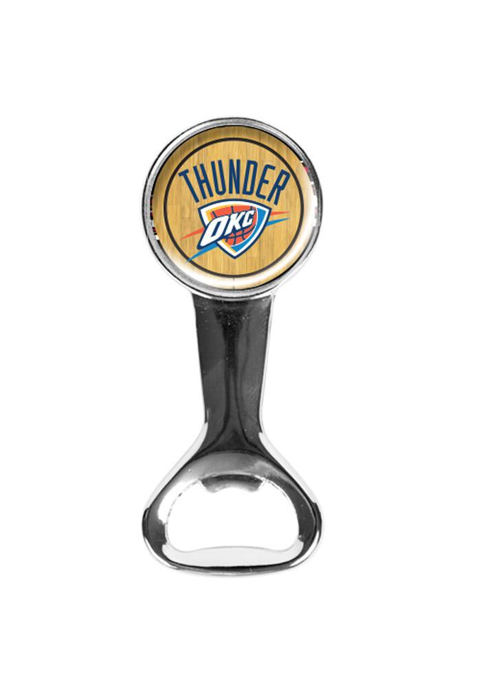 Oklahoma City Thunder Court Magnetic Bottle Opener - Image 1