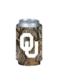 Oklahoma Sooners Camo Can Coolie