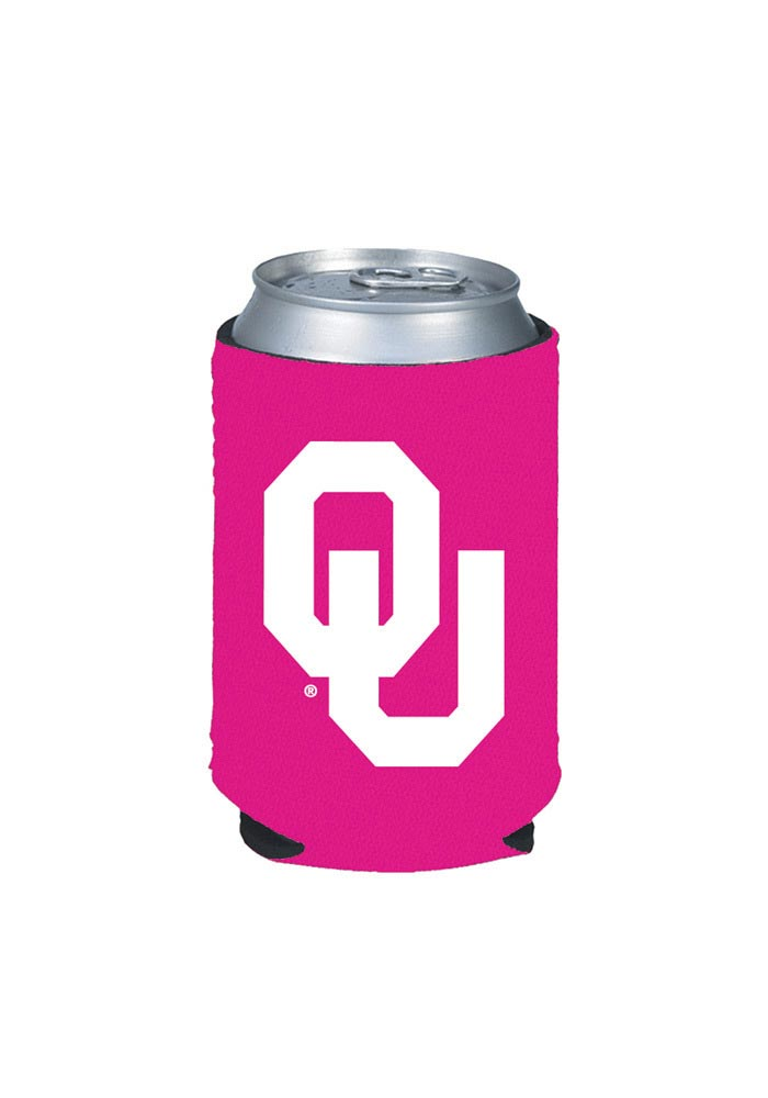 Oklahoma Sooners Pink Can Coolie