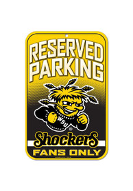 Wichita State Shockers Reserved Parking Sign