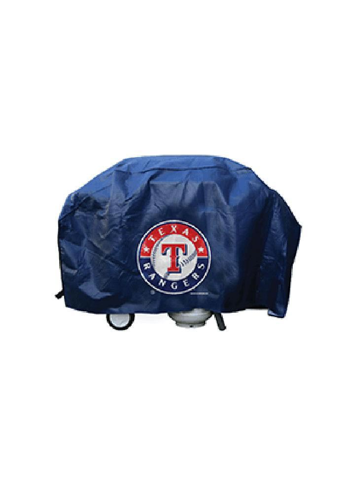 Texas Rangers 68in Blue BBQ Grill Cover - Image 1