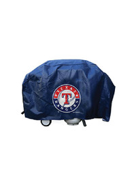 Texas Rangers 68in Blue BBQ Grill Cover