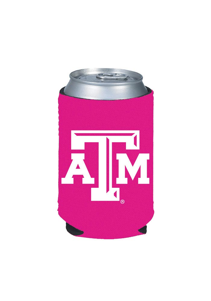 Texas A&M Aggies Pink Can Coolie - Image 1