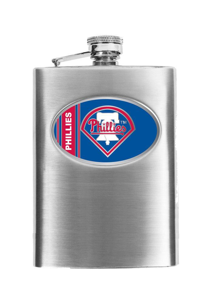 Philadelphia Phillies 8oz Stainless Steel Flask - Image 1