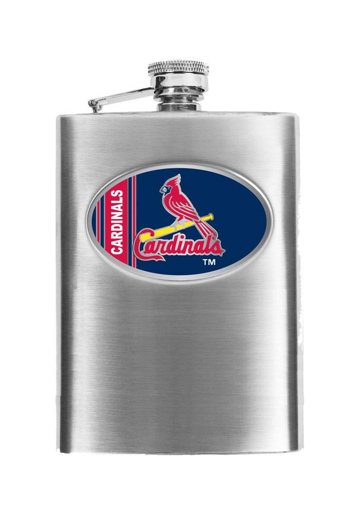 St Louis Cardinals 8oz Stainless Steel Flask - Image 1