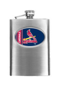 St Louis Cardinals 8oz Stainless Steel Flask