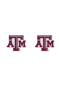 Texas A&M Aggies Womens Logo Post Earrings - Maroon