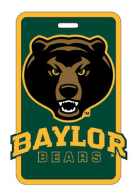 Baylor Bears Rubber Luggage Tag - Green
