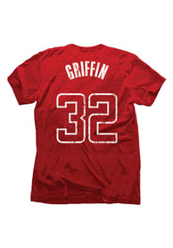 Blake Griffin Los Angeles Clippers Crimson Tri-Blend Player Tee