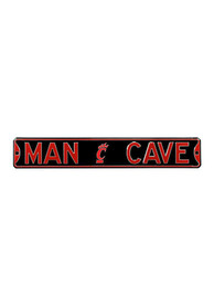 Cincinnati Bearcats 6x36 Man Cave Street Sign