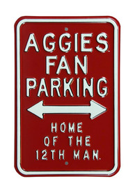 Texas A&M Aggies Parking Only Sign