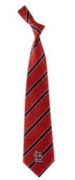 St Louis Cardinals Woven Poly Tie - Red